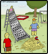Cartoon: Cheese Slide (small) by cartertoons tagged grater,slide,cheese,playground,kids,shred,cheddar,swiss