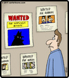 Cartoon: Suspicious Poster (small) by cartertoons tagged wanted,poster,crime,criminals,suspicious