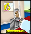 Cartoon: Vet Drive Thru (small) by cartertoons tagged verterinarian,drive,thru,dog,animals,car