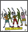 Cartoon: Zumbie (small) by cartertoons tagged zumba,dance,exercise,zombie,class