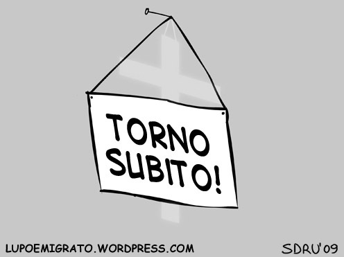 Cartoon: Torno subito (medium) by sdrummelo tagged crocefisso,in,aula,torno,subito,sentenza,europea,vaticano