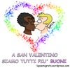Cartoon: Saint Valentine Extended (small) by sdrummelo tagged gay,homophobia,xenophobia,racism,kiss,sain,valentine