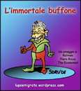Cartoon: The Immortal Jester (small) by sdrummelo tagged silvio,berlusconi,italy,immortal,jester,buffone,ratman,economist,piero,ricca