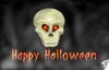 Cartoon: best wish to You (small) by swenson tagged halloween skull totenkopf scarry grußlig