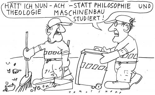 Cartoon: Bildung (medium) by Jan Tomaschoff tagged bildung