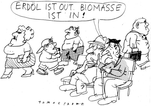 biomasse by jan tomaschoff politics cartoon toonpool. Black Bedroom Furniture Sets. Home Design Ideas