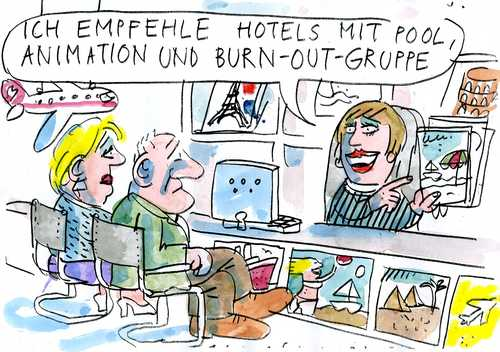 Cartoon: burn out (medium) by Jan Tomaschoff tagged burn,out,burn,out