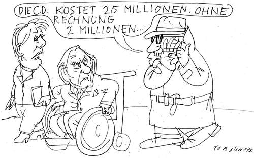 Cartoon: CD (medium) by Jan Tomaschoff tagged daten,cds,steuerflucht,schweiz