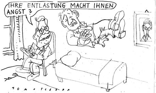 Cartoon: Entlastung (medium) by Jan Tomaschoff tagged steuerentlastungen