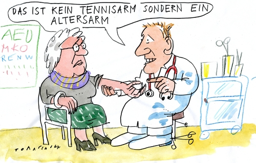 Cartoon gesundheit medium by jan tomaschoff tagged