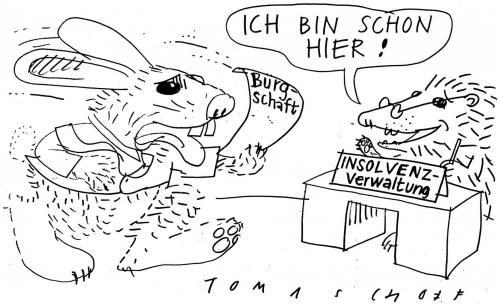 hase und igeljan tomaschoff | politics cartoon | toonpool