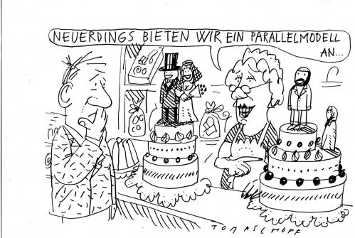 Hochzeitstorte By Jan Tomaschoff Politics Cartoon Toonpool