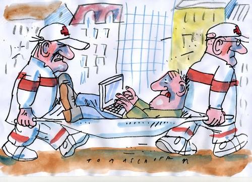 Krank Cartoon