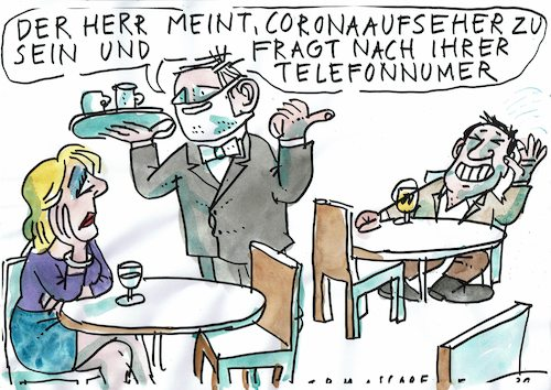 Cartoon: Telefonnummer (medium) by Jan Tomaschoff tagged telefonnummer,flirt,corona,telefonnummer,flirt,corona