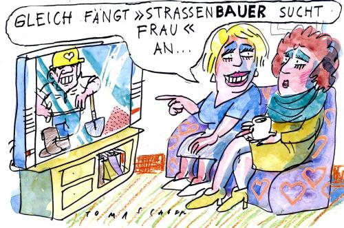 wer sucht by jan tomaschoff media culture cartoon. Black Bedroom Furniture Sets. Home Design Ideas