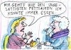 Cartoon: Appetit (small) by Jan Tomaschoff tagged diät,appetit,gewicht