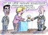 Cartoon: Authentisch (small) by Jan Tomaschoff tagged angela,merkel,urban