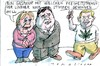Cartoon: FDP (small) by Jan Tomaschoff tagged fdp,liberale,haschisch