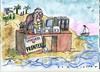 Cartoon: Frontex (small) by Jan Tomaschoff tagged migration,registrierung,hot,spot