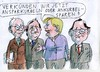 Cartoon: no (small) by Jan Tomaschoff tagged european,union,debts