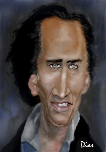 Cartoon: Caricature (medium) by MRDias tagged caricature