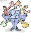 Cartoon: Lawyers (small) by Damien Glez tagged law,justice,lawyers