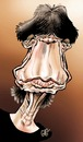 Cartoon: Mick Jagger (small) by Damien Glez tagged mick jagger rolling stones