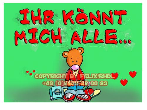 Cartoon: Bobbo the Bear-Bobbo der Bär (medium) by FeliXfromAC tagged bobbo,the,bear,bär,tiere,stockart,animals,cartoon,comic,comix,felix,alias,reinhard,horst,greeting,card,glückwunschkarte,liebe,character,design,mascot,sympathiefigur,beziehung,glück,luck,greetings,