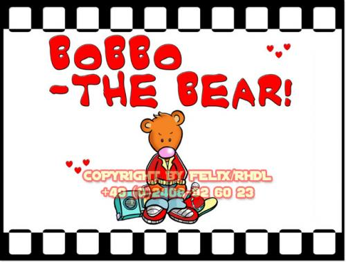 Cartoon: Bobbo the Bear-Bobbo der Bär (medium) by FeliXfromAC tagged bobbo,the,bear,bär,stockart,tiere,animals,pleite,cartoon,comic,comix,felix,alias,reinhard,horst,greeting,card,glückwunschkarte,liebe,character,design,mascot,sympathiefigur,beziehung,glück,luck,greetings,