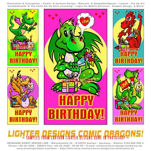 happy birthday tiere