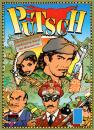 Cartoon: Cover Illustration PUTSCH! (small) by FeliXfromAC tagged felix,alias,reinhard,horst,aachen,design,line,comic,cartoon,illustration,putsch,game,spiel,brettspiel,umsturz,bananenrepublik