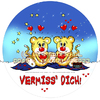 Cartoon: FeliX Cartoon-Vermisse Dich! (small) by FeliXfromAC tagged birthday happy lila lovecrazy animal tier musik music glück love liebe piguin package kuchenschachtel schachtel verpackung illustration comic cartoon illustrator aachen germany sympathiefigur mascot character line design horst reinhard alias felix leo rom