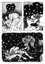 Cartoon: when you love upon a star... (small) by AGRA tagged love,stars,woman