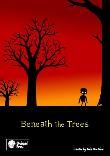 Cartoon: Beneath The Trees (medium) by volkertoons tagged creeps,creepy,horror,burton,romantic,romantik,trees,bäume,halloween,zombie,funny,spooky,tod,untot,tot,death,undead,dead,illustration,volkertoons,cartoons