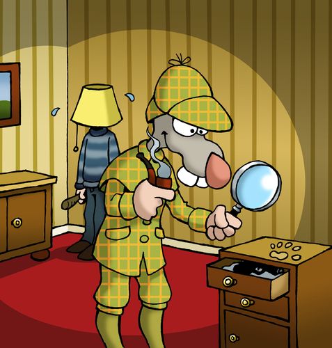 Cartoon: BODO Magazin - Sherlock Bodo (medium) by volkertoons tagged versteck,tarnung,thief,dieb,einbrecher,krimi,holmes,sherlock,investigation,investigator,private,privatdetektiv,detective,detektiv,rat,ratte,bodo,illustration,cartoon,volkertoons,illustration,ratte,detektiv,spion,sherlock holmes,suchen,spur,kriminalität,suche,lupe,sherlock,holmes