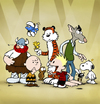 Cartoon: BODO Magazin - Comic Allstars (small) by volkertoons tagged volkertoons,cartoon,bodo,ratte,peanuts,charlie,brown,snoppy,lemming,hägar,calvin,hobbes,schlumpf,schlümpfe,smurf,smurfs,schtroumpf,les,schtroumpfs,die,fliege,the,flie,comic,comicfiguren,charaktere,characters,hommage,fan,art,zeichentrick