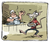 Cartoon: BODO Magazin - Suppenküche (small) by volkertoons tagged volkertoons,cartoon,illustration,bodo,ratte,rat,suppe,soup,küche,kitchen,suppenküche
