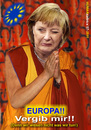 Cartoon: Europa vergib!! (small) by cartoonist_egon tagged europa merkel beten vergebung