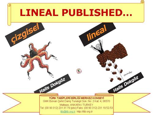 Cartoon: Lineal Cartoon Book (medium) by halisdokgoz tagged lineal,halis,dokgoz,cartoon,book