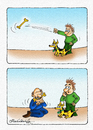 Cartoon: Dog and Man (small) by halisdokgoz tagged dog,and,man