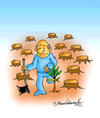 Cartoon: Ecosystem (small) by halisdokgoz tagged ecosystem