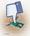 Cartoon: LIKE OR NOT LIKE (small) by halisdokgoz tagged like,or,not