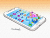 Cartoon: Mobile phone cleaning (small) by halisdokgoz tagged mobile,phone,cleaning