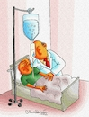 Cartoon: PATIENT AND DOCTOR (small) by halisdokgoz tagged patient,and,doctor