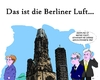 Cartoon: Emissionswerte (small) by Tricomix tagged emission,emissionswerte,berlin,merkel,norbert,roettgen,horst,seehofer,gedaechtniskirche,hohler,zahn,kurfuerstendamm,kuhdamm,tauenzienstrasse,berliner,luft,charlottenburg