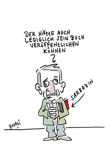 Cartoon: GEISTIGER BRANDSTIFTER... (medium) by Hayati tagged berlin,boyacioglu,hayati,migration,islam,moslem,juden,rassismus,gentheorie,bestseller,bundesbank,senator,spd,thilo,sarrazin,ab,sich,schafft,deutschland,buch,norway,anschlag,massacre,island,utoeya,arsonist,mental,attentat,oslo,norvec,norwegen,norwegen,attentat,anschlag,sarrazin