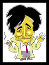 Cartoon: Adieu Columbo! (small) by Hayati tagged peter,falk,columbo,lieutenant,inspector,schauspieler,tot,hayati,boyacioglu