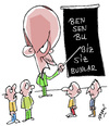 Cartoon: Divide et impera (small) by Hayati tagged recep,tayyip,erdogan,akp,hayati,boyacioglu