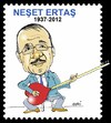 Cartoon: Neset Ertas (small) by Hayati tagged neset,ertas,saz,volksdichter,minneslieder,lyrik,volksmusik,tuerkei,hayati,boyacioglu,berlin