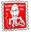 Cartoon: Yilmaz Güney (small) by Hayati tagged yilmaz,güney,kinomacher,regisseur,regi,yonetmen,oyuncu,schauspieler,kovboy,umut,portrait,kamera,film,artist,akteur,movie,cartoon,hayati,boyacioglu